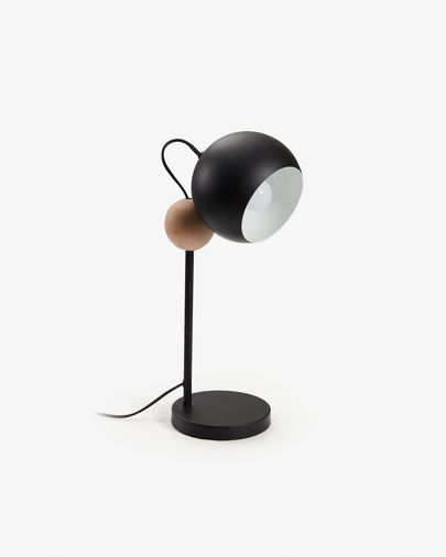 Black Vonne table lamp