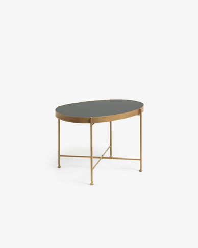 Gold Marlet side table Ø 45 x 63 cm