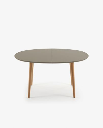 Oqui extendable table 140 (220) x 90 cm brown
