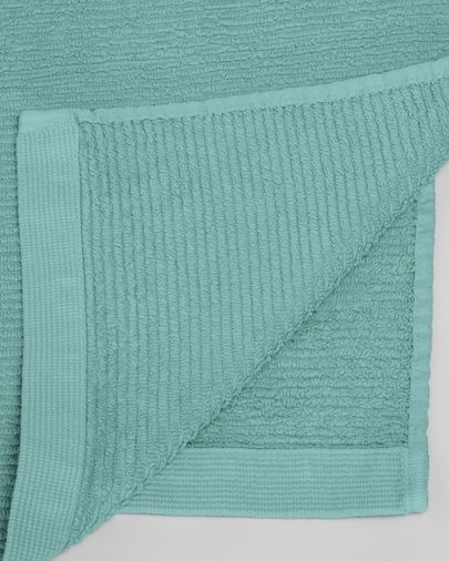 Miekki hand towel light turquoise