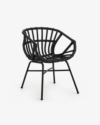 Black Kaly armchair