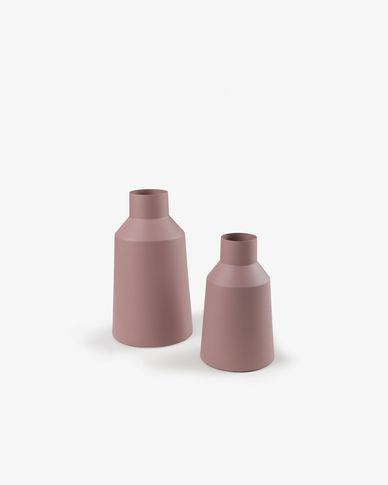 Sond set of 2 vases pink