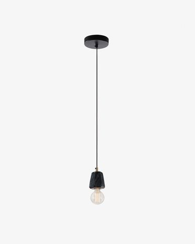 Bray pendant lamp black