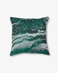 Green Rocio cushion cover