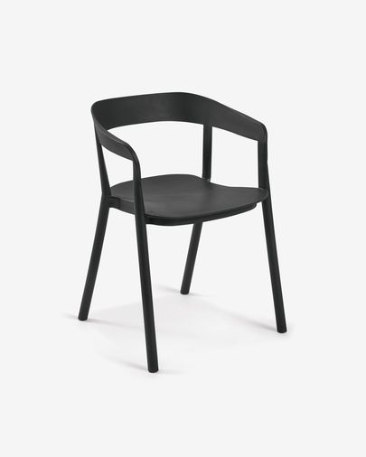 Black Niels chair