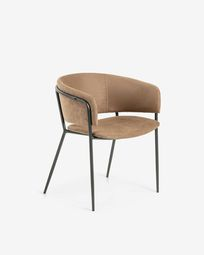 Brown Runnie armchair