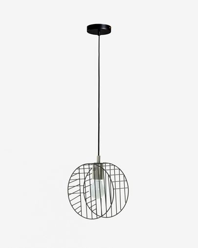 Arietta ceiling lamp in black