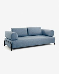 Blue 3-seater Compo sofa 232 cm