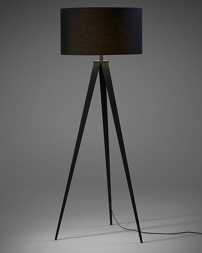 Iguazu floor lamp, black