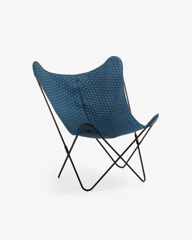 Fauteuil Fly blauw