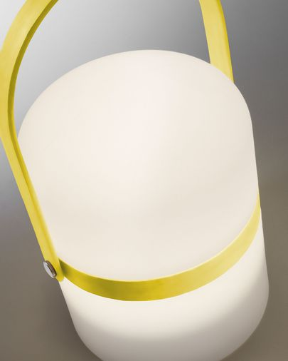 Ridley led table lamp green