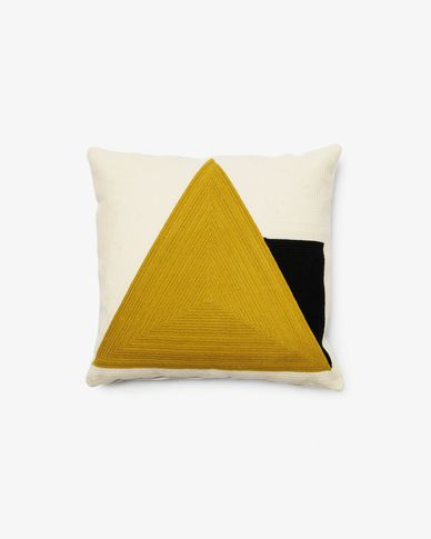 Sinna cushion cover 45 x 45 cm yellow