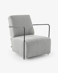 Light grey Gamer armchair