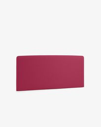 Burgundy Dyla headboard cover 150 cm