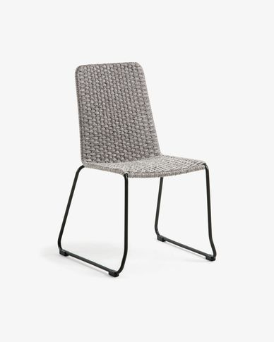 Spotted grey Brianne chair