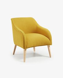 Mustard Bobly armchair