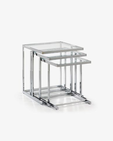 Bliar set of 3 nesting tables