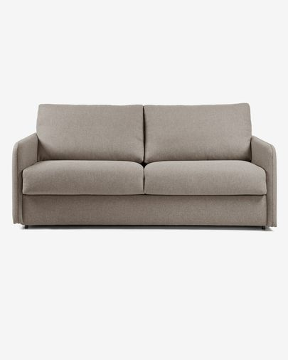 Kymoon sofa bed 140 cm visco brown