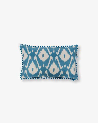 Zadi cushion cover, blue