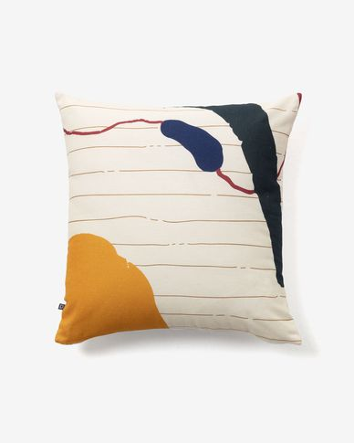 Nahieli striped cushion cover
