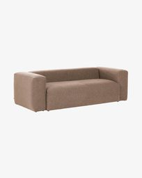 Pink 3 seaters Blok sofa 240 cm