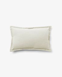 Lisette cushion cover 30 x 50 cm in white