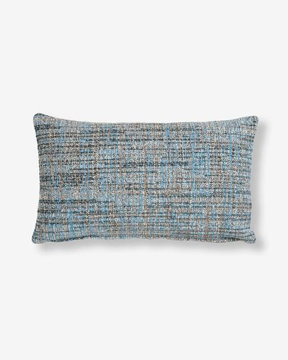 Boho cushion cover 30 x 50 cm blue