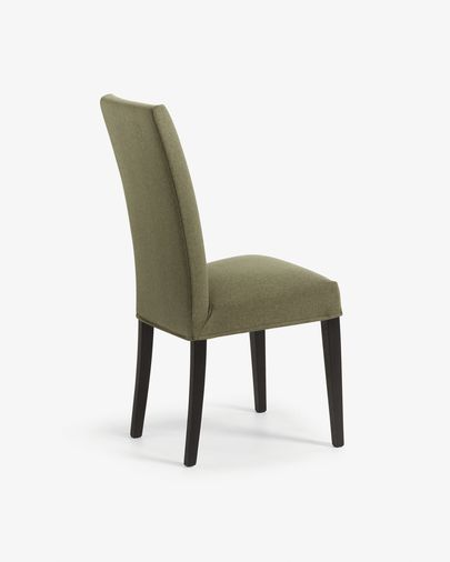 Green and black Freda chair