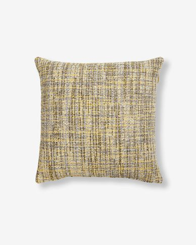 Boho cushion cover 45 x 45 cm mustard