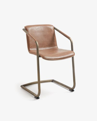 Tribe armchair oxid brown