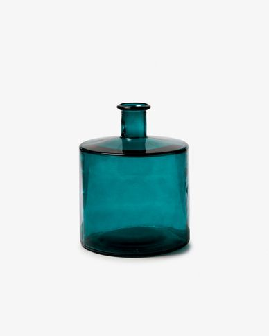 Edition vase 26 cm green