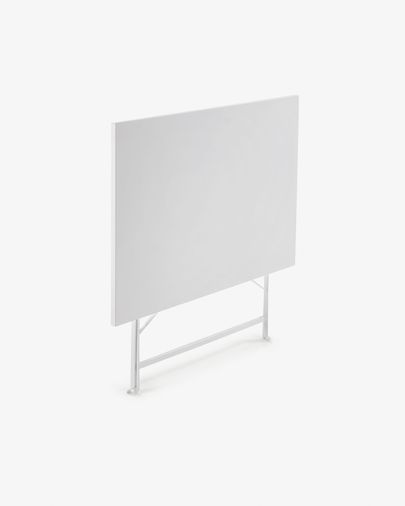 Table rectangulaire Alrick 110 x 70 cm blanc mat