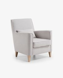 Fauteuil Glam beige