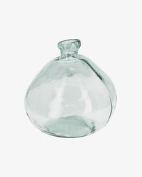 Breena big clear vase
