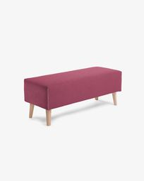 Burgundy bench cover Dyla