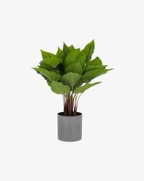 Planta anthurium artificial Zelena