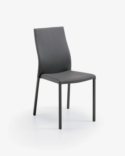 Abelle chair grey leather
