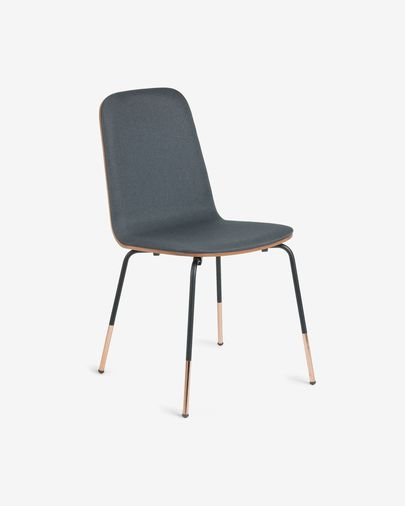 Graphite Canele chair