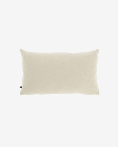 Beige Nedra cushion cover 30 x 50 cm
