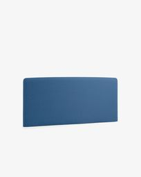 Dark blue Dyla headboard cover 150 cm