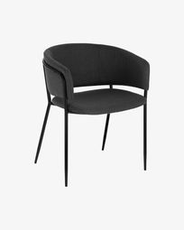 Dark grey Runnie chair