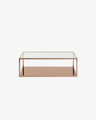 Greenhill rectangular cooper coffee table