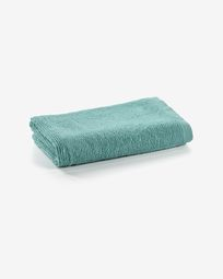 Miekki small bath towel light turquoise