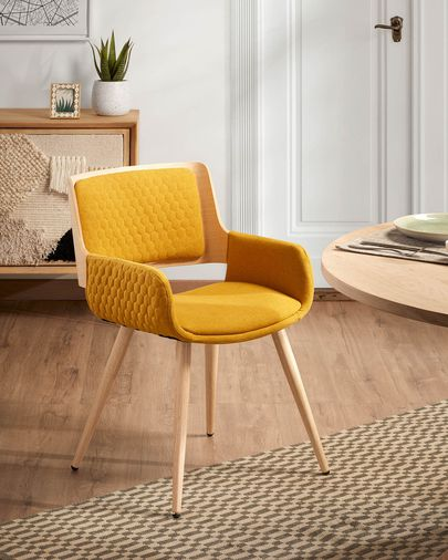 Mustard Angie chair