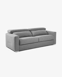 Kant sofa bed 160 cm visco light grey