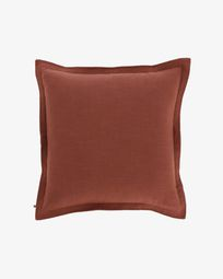 Maroon Maelina cushion cover 60 x 60 cm