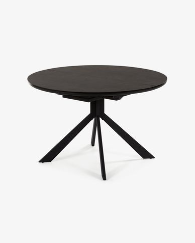 Haydee extendable table Ø 120 cm