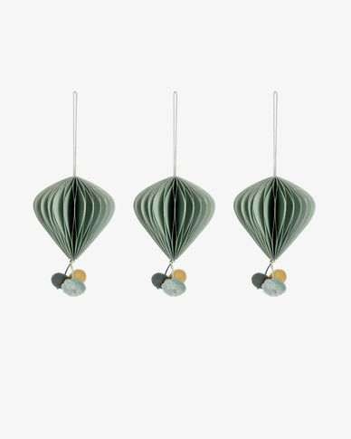 Lilien bauble set