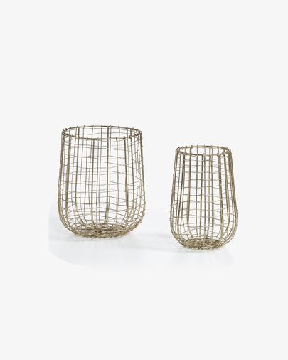 Hull set of 2 candle holders