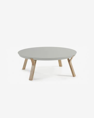 Grey and ash Dilos coffee table Ø 90 cm